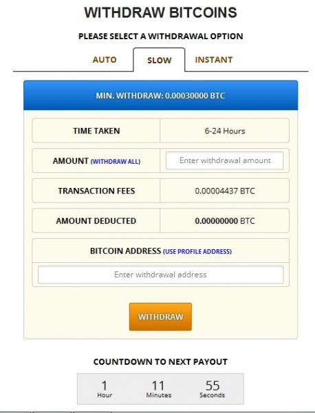 Freebitcoin - Withdraw Bitcoin SLOW